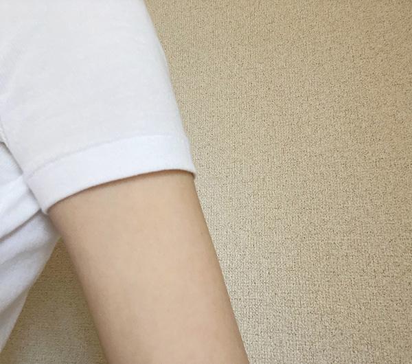 プチバトーTシャツ袖