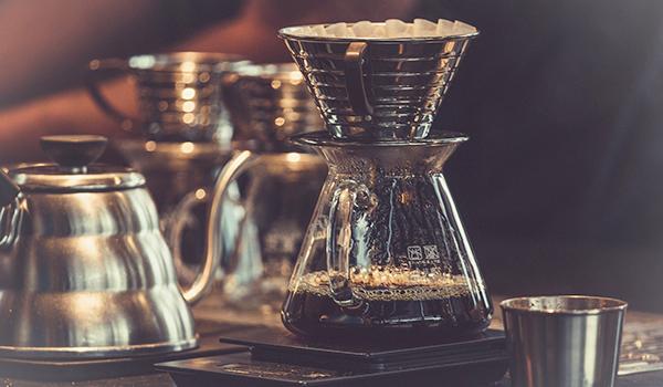 おいしいコーヒーを飲む。
